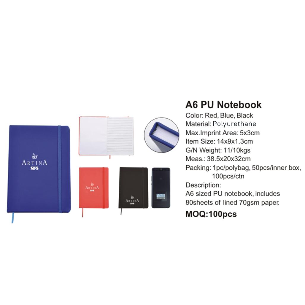 A6 PU Notebook 4