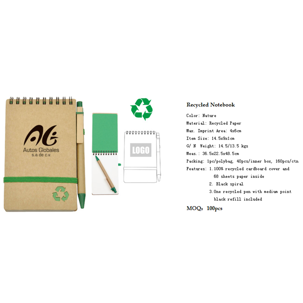 Recycled Notebook 4