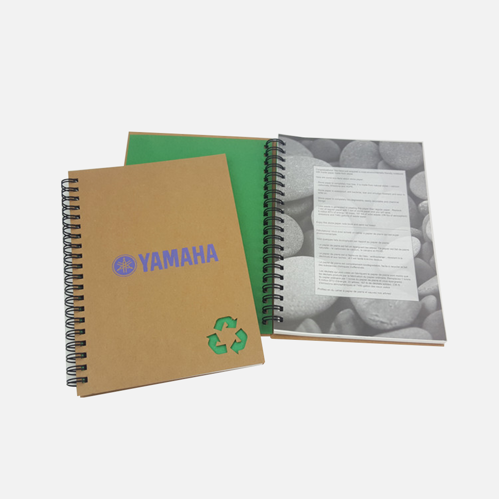 Recycled Stone Paper Notebook 2