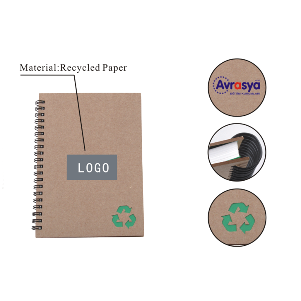 Recycled Stone Paper Notebook 5