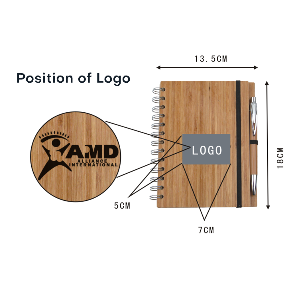 Eco Bamboo Notebook 9