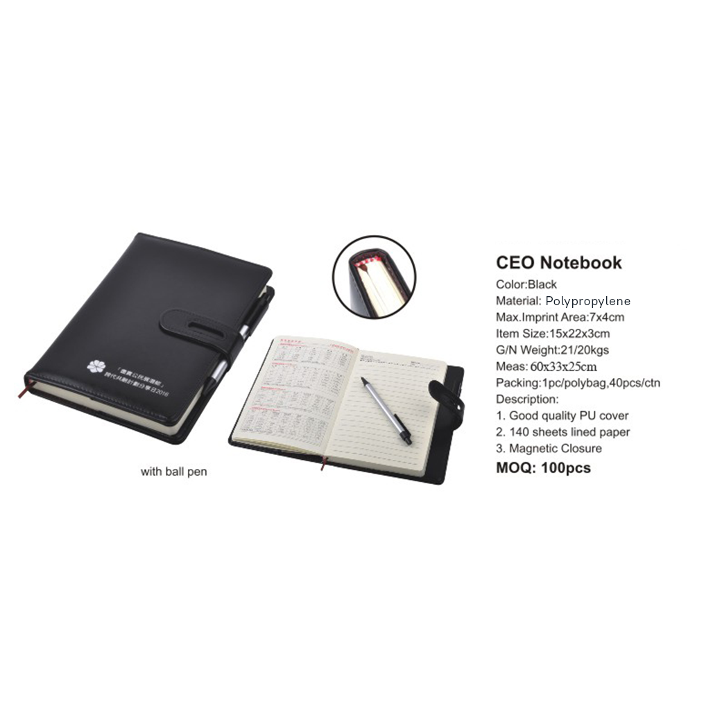 CEO Notebook 4