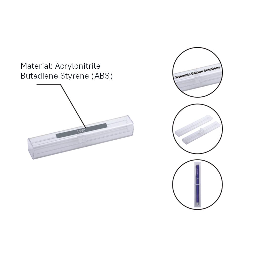 Rectangle Crystal Pen Box 1
