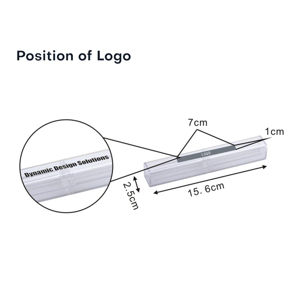 Rectangle Crystal Pen Box 3