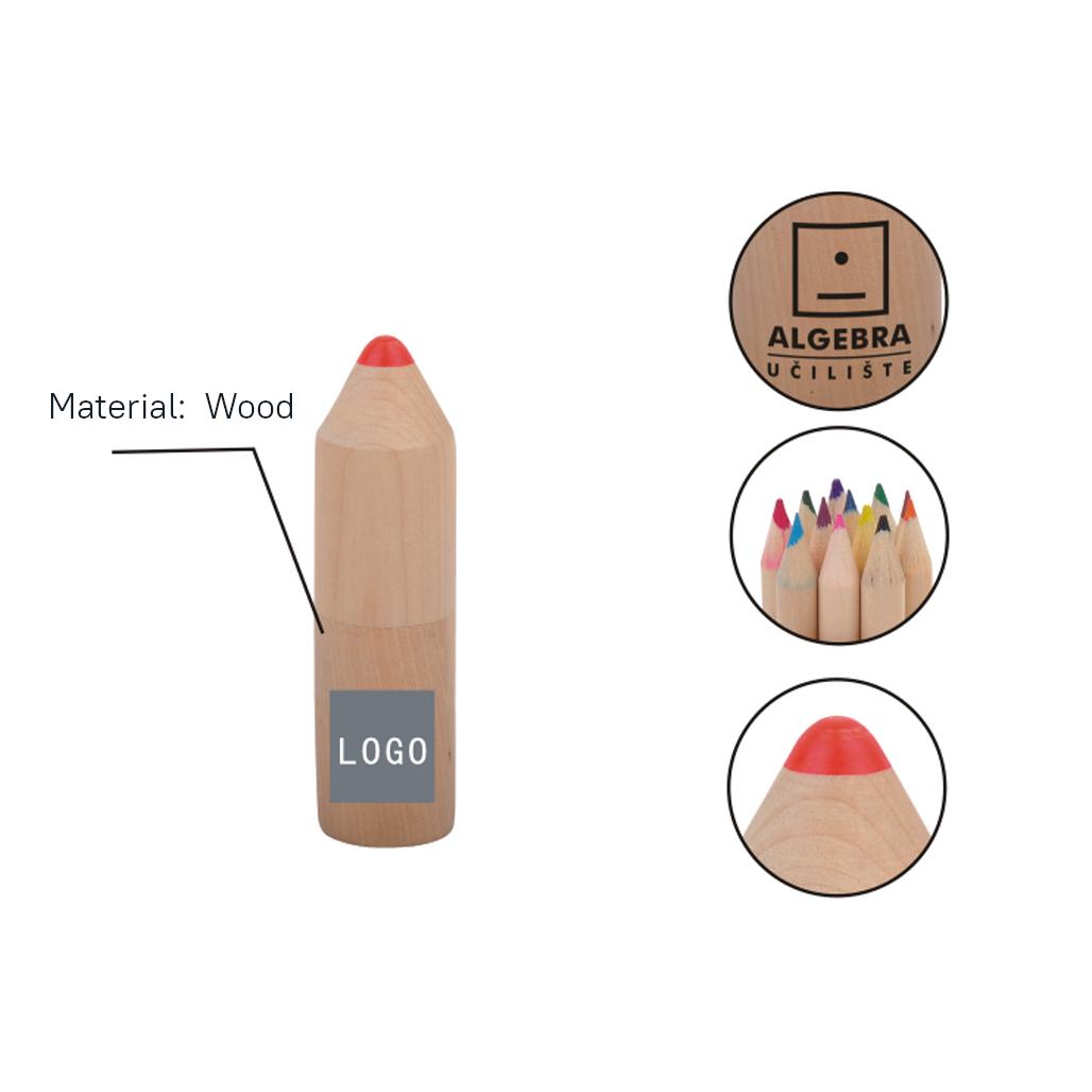 Bullet Shape Colored Pencil Set 5
