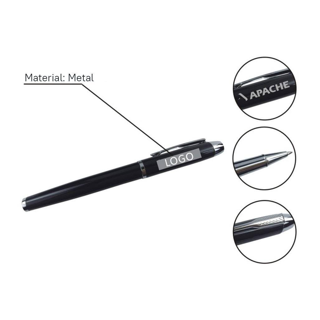 Split Clip Gel Ink Pen 5