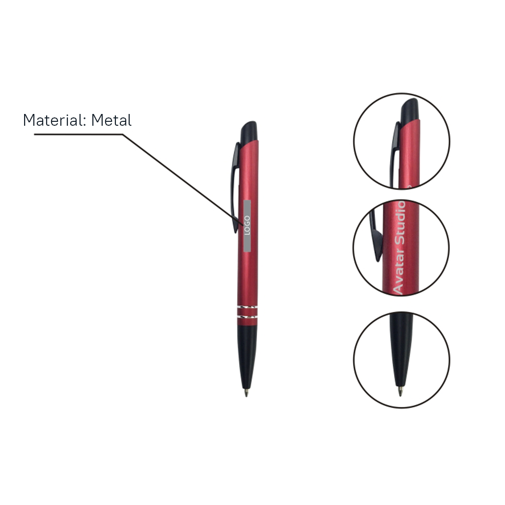 Deluxe Metal Ball Pen 5