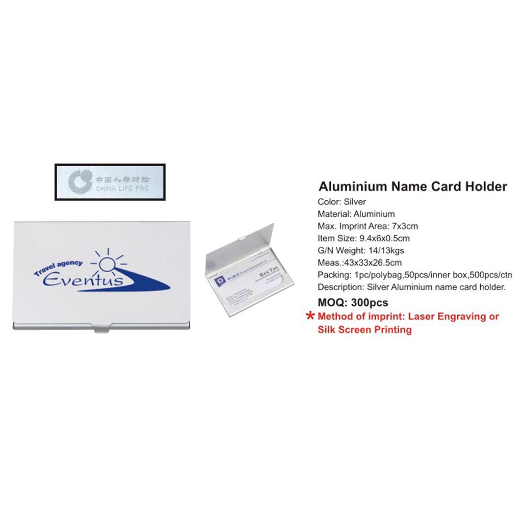 Aluminium Business Card Holder 4