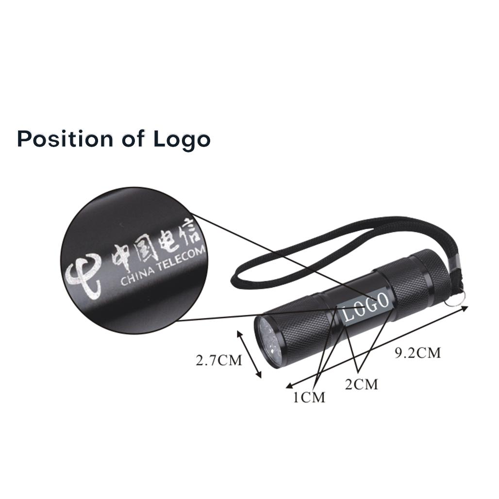 Uno LED Aluminum Torch 6