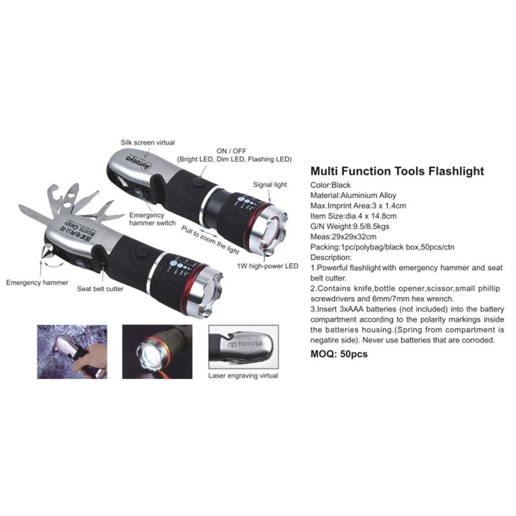 Multi Function Tools Flashlight 4