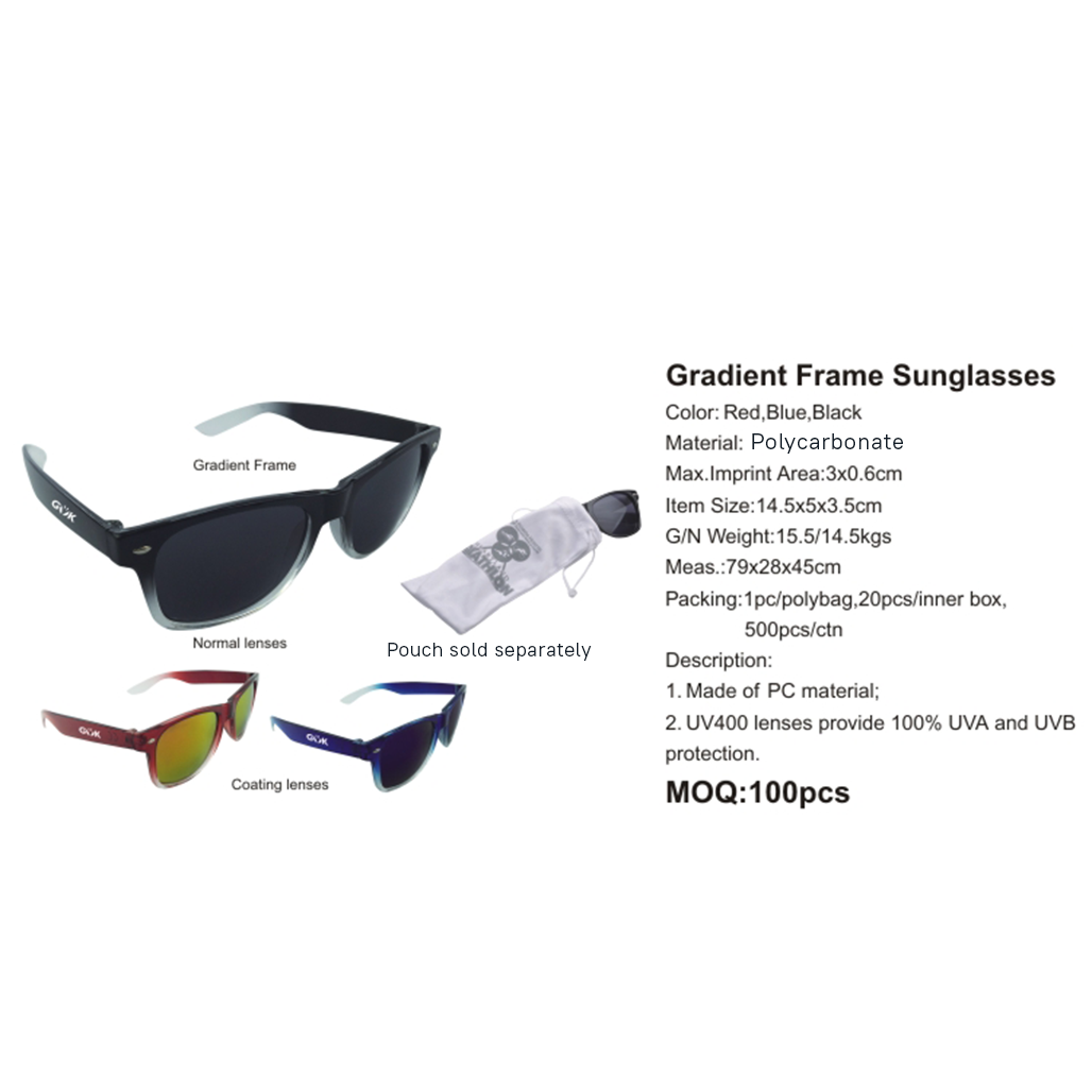 Gradient Frame Sunglasses 4