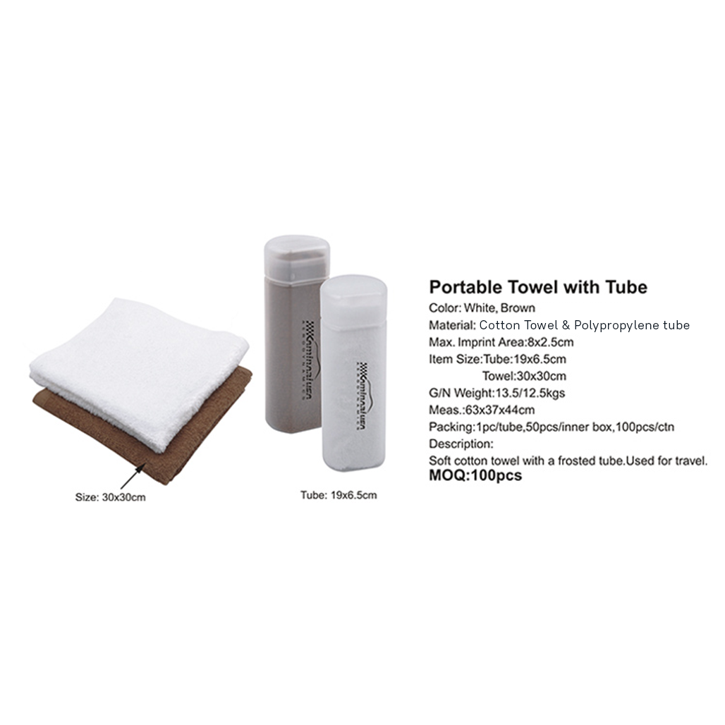 Portable Towel with Tube 3