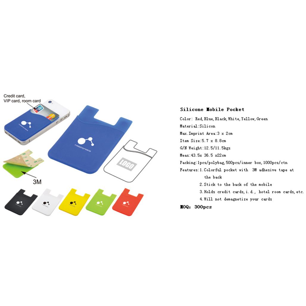 Silicone Mobile Pocket 4