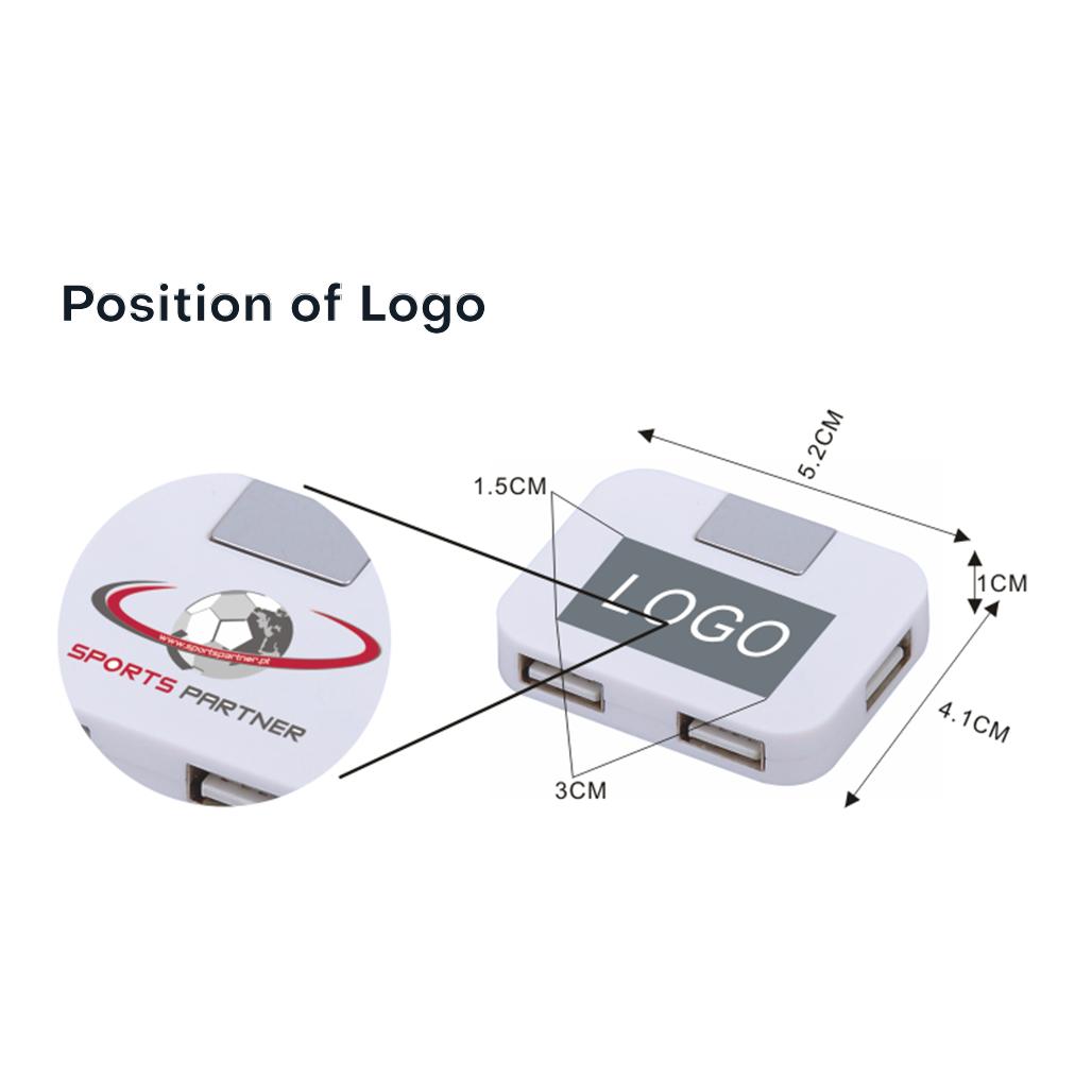4-Port USB Hub 7